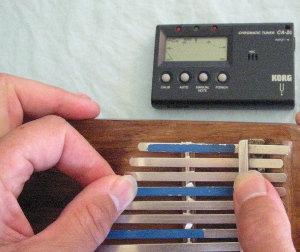 Keeping Your Kalimba In Tune