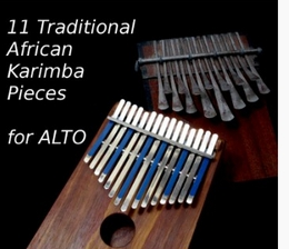 11 Advanced Traditional African pieces for Alto (Download)