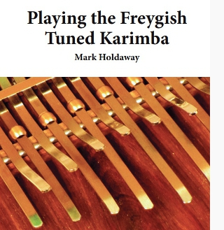 Playing Freygish Karimba