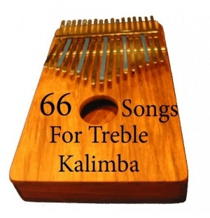 There are 5 Trad. African Songs in this download for Treble Kalimba in G