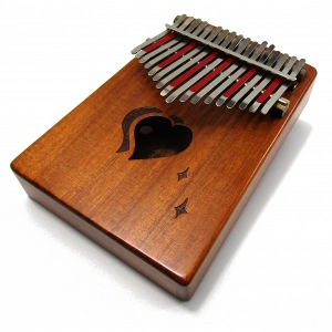 Silent Night: 17-Note Heart Kalimba