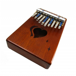 Silent Night: 10-Note Heart Kalimba
