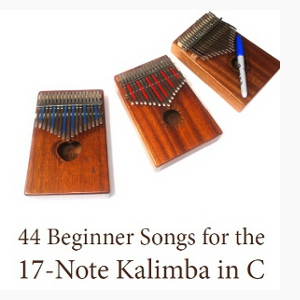 44 Beginner Songs for the 17-Note Kalimba in C