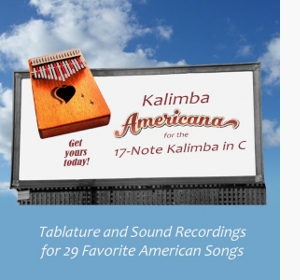 Kalimba Americana for the 17-Note Kalimba in C