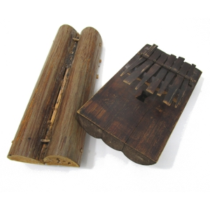 Raffia and Bamboo Kalimbas