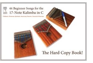 Livre: 44 chansons pour débutants pour le Kalimba de 17 notes en do