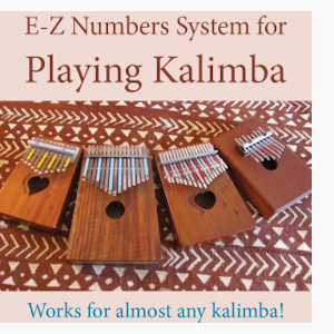 E-Z Numbers System for Playing Any Kalimba