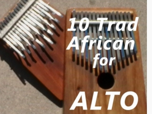 10 Traditional African Pieces for Alto Kalimba (Download)