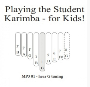 Student Karimba for Kids (Booklet)