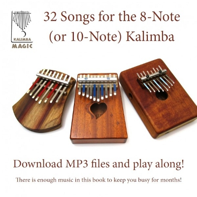 32 Songs eBook for the 8-Note (or 10-Note) Kalimba