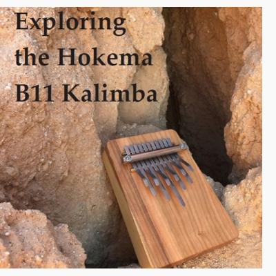 """Hokema Kalimba B11 /""""Melody/""""Neu"""