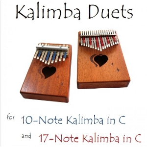 Kalimba Duets for 10-Note and 17-Note in C