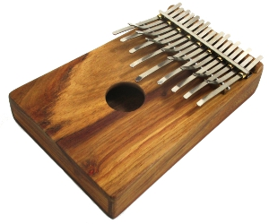 Hugh Tracey Box Karimba - 17 Notes in A