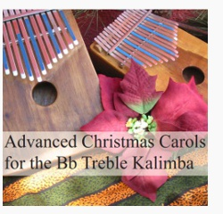 Download: Advanced Christmas Carols for the Bb Treble Kalimba