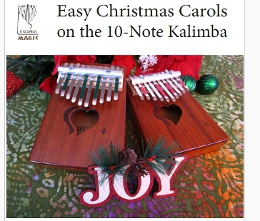 Easy Christmas Carols on the 10-Note Kalimba in C