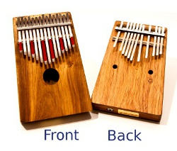 Chromatic Kalimba - for the serious music nerd!