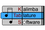 Next Up: KTabS - Kalimba Tablature Software