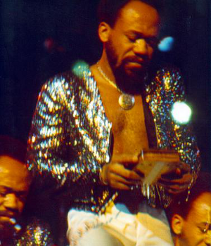 Maurice White of Earth, Wind, and Fire played the Hugh Tracey Treble Kalimba