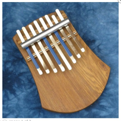 Hugh Tracey 8-Note Kalimba with Pickup