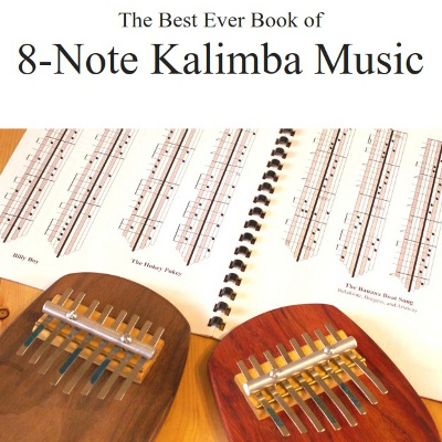 Best Ever Book of 8-Note Kalimba Music