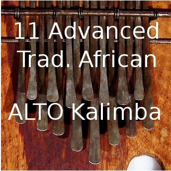 11 Adv. Trad. African Pieces for Alto