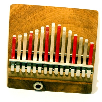 Hugh Tracey Celeste Alto Kalimba with Pickup