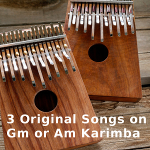 3 Original Pieces for G minor Karimba