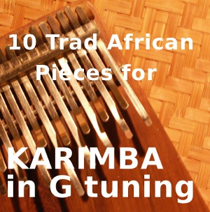 10 Trad. African  for G Karimba