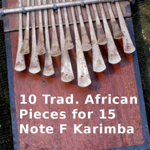 10 Trad. African for 15-Note F Karimba