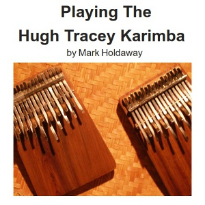 Playing the Hugh Tracey Karimba