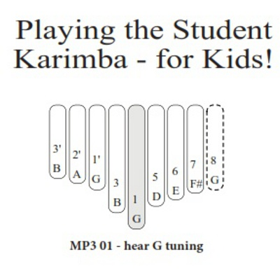 Student Karimba for Kids
