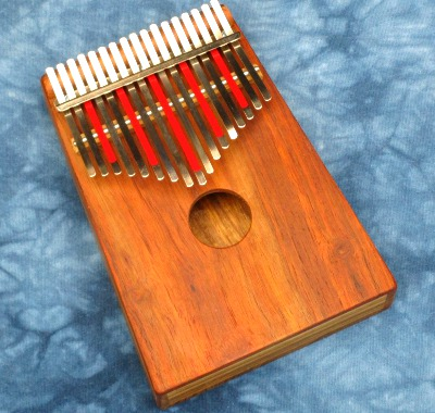 Hugh Tracey Treble Kalimba with Pickup
