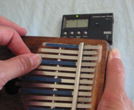 Tuning your Kalimba